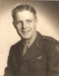 DONALD W. FLINT USAF WWII 1942 to 1945