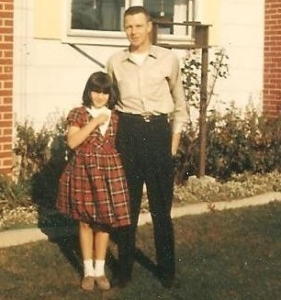 Daddy & Me about 1963