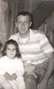 Daddy and Me abt 1957 or 58